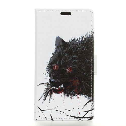 Housse Huawei P Smart Loup noir   Loup noir, Galaxy, Housses