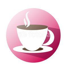 Coffee icon supermaket #button #fotolia #design #concept #tool #cart #shop #online #services #icon #vector #business