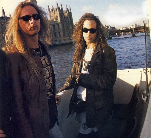Jerry Cantrell and Mike Starr