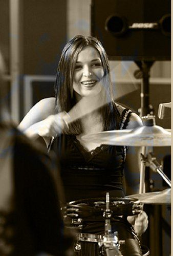 Caroline Corr, Irish singer and drummer for the Celtic band The Corrs. She also plays the bodhrán, percussion and piano. thecorrswebsite.com