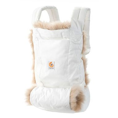 Ergo Baby winter edition carrier -so gorgeous! Mark it down if you're in your first trimester now.