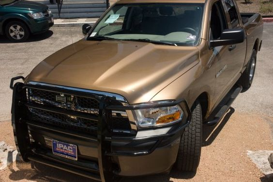 Ranch Hand Legend Grille Guard on bronze truck