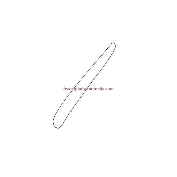 alphabetstencil-i.jpg (700×700)