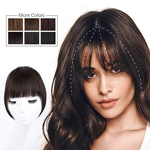 Curtain Bangs Clip In Curtain Bangs Hairstyles With Bangs Real Hair Wigs