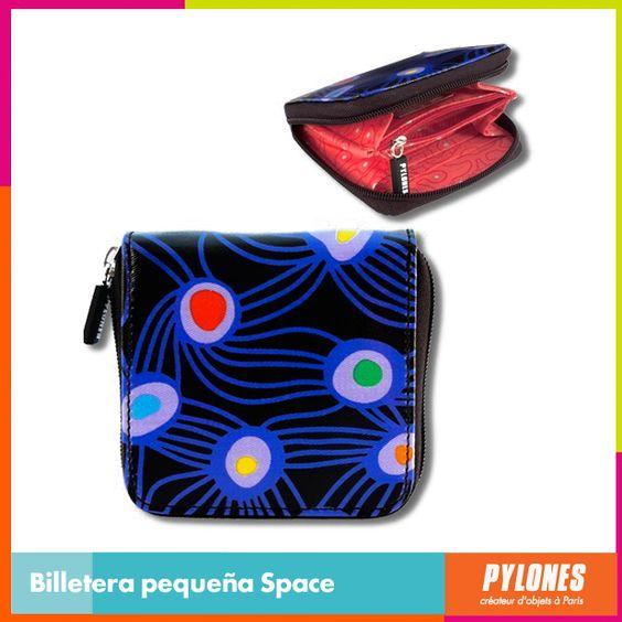 #Billetera pequeña Space #DíaDeLaMujer  Pylones Colombia