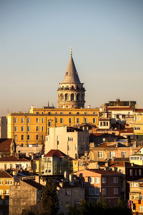 To one day be atop the Galata Tower in Instanbul http://istanbul.for91days.com