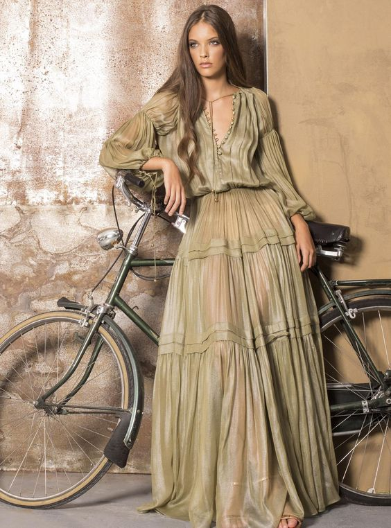 Влюбилась в платья в стиле бохо - делюсь подборкой фото