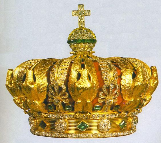 French Crown of Empress Eugenie,  French Crown Jewels