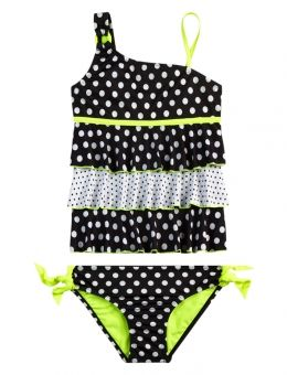 POLKA DOT TANKINI SWIMSUIT | GIRLS TANKINIS SWIMSUITS | SHOP JUSTICE