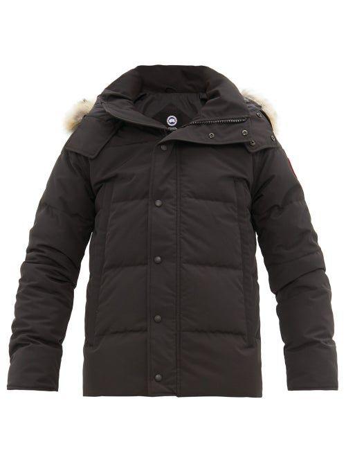 Canada Goose Lodge Packaway Matelasse Shell Down Jacket Mens Designer Coats Jackets Canada Goose