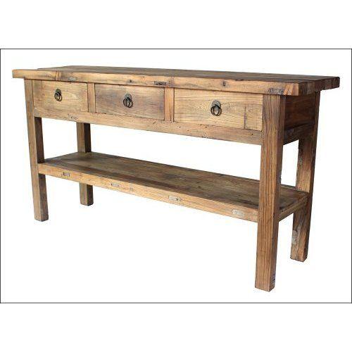 Teak Konsole Massiv 160*40cm   Sideboards \ Kommoden   Vintage   Kommode  Für Küche