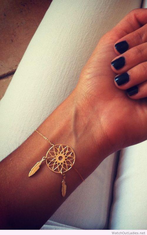 Lovely dreamcatcher bracelet