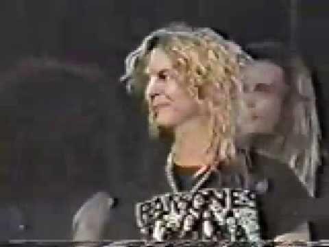 ▶ Skid Row feat. Metallica & Guns N' Roses - Whiplash (1990) - YouTube