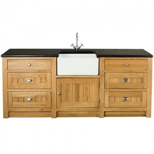 Orchard oak kitchen sink cabinet 1 door 6 drawers with for Kitchen cabinets 900mm high