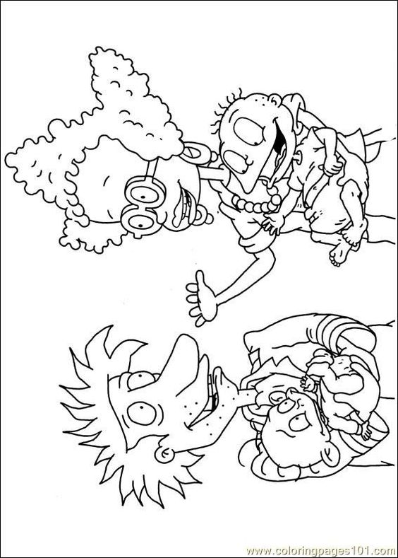Rugrats Coloring Pages Pages
