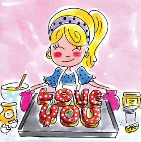 Baking 'love you' - Blond Amsterdam: