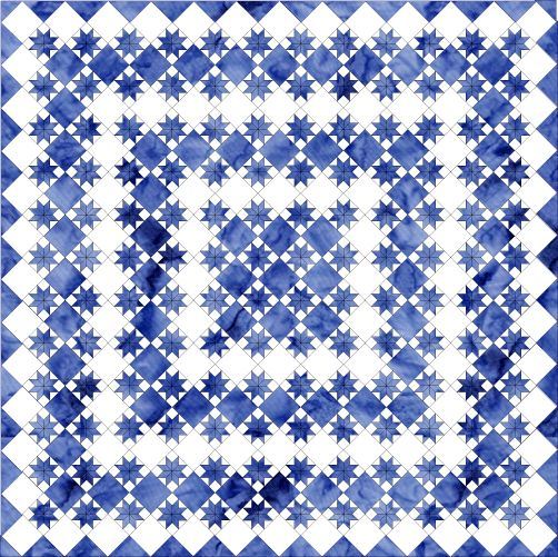 Free Quilt Patterns to Print All About Inklingo Blog Archive Easy On-Point Quilt Pattern ...