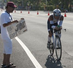 Truly inspiring story of a man who, despite his deadly congenital brain disease, fights on and competes in ironmans.