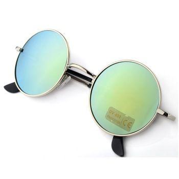 Descuento promocional 2015 venta caliente de moda gafas de sol Unisex Hippie…
