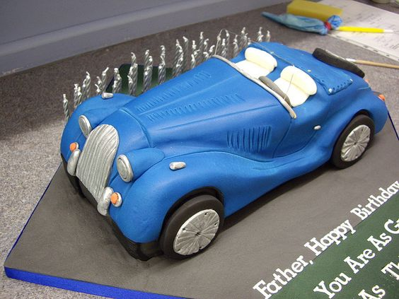 Vintage Morgan Car Morgan Cars Cake And Car Cakes