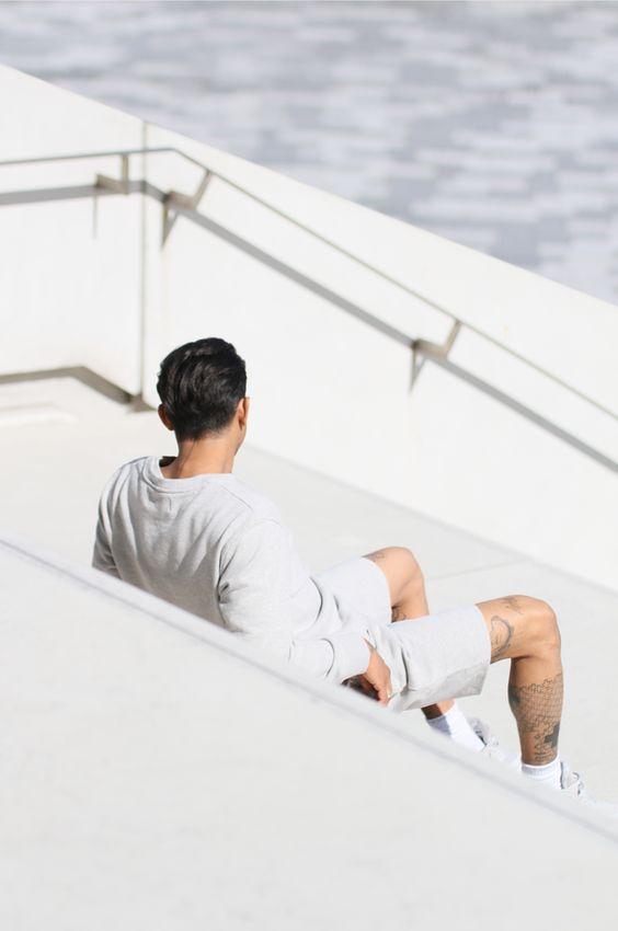 Love Aesthetics / Romeo in Calvin Klein