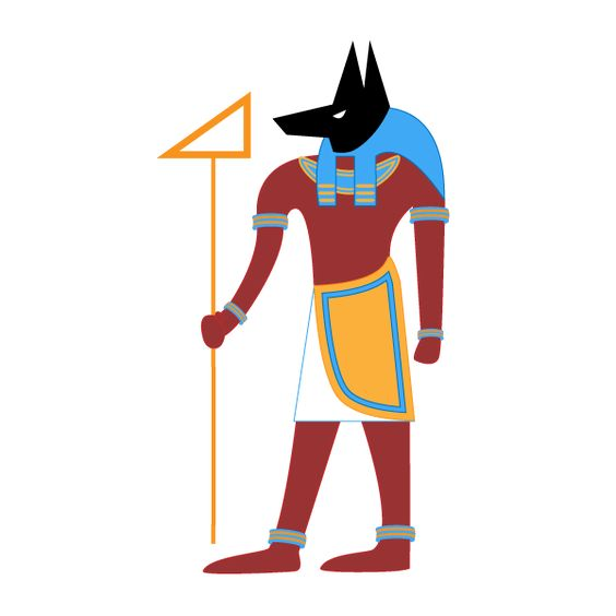 Sohcahtoa isn't actually an Egyptian god, but if it helps to remember him that…