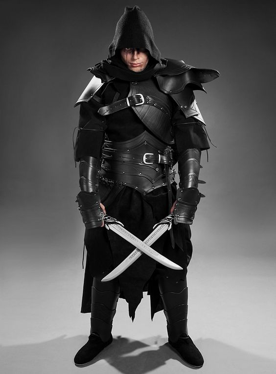 Ranger Leather Armor set black