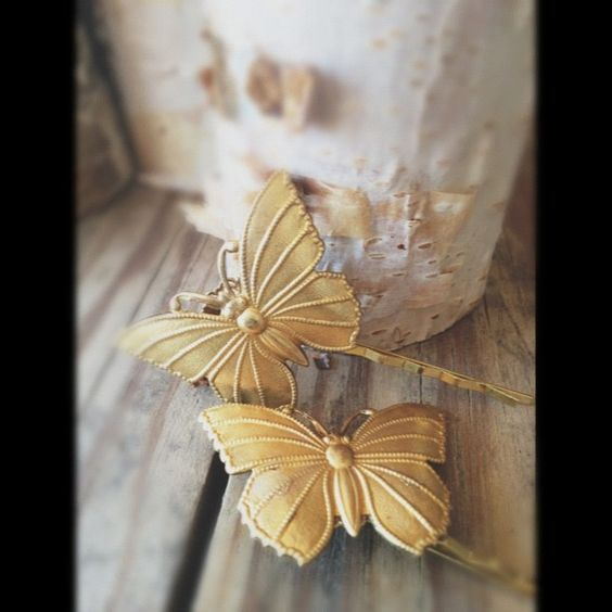 Butterfly Hair Pins - so cute!