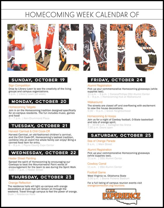 schedule of events flyer - Google Search | sample flyers ...