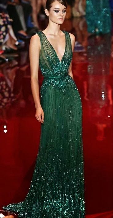 2014 Golden Globes Red Carpet | Elie Saab Haute Couture Fall 2013