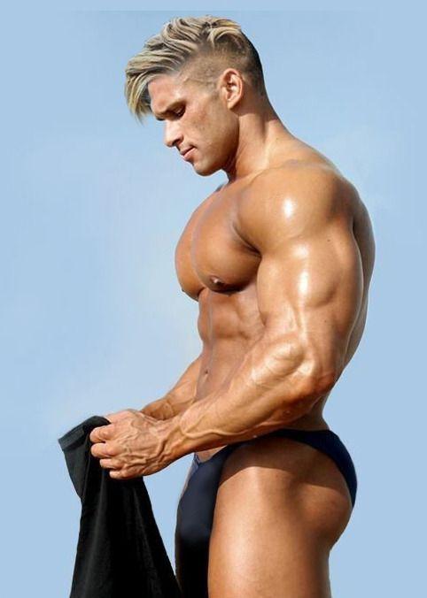 Muscle men bubble butt
