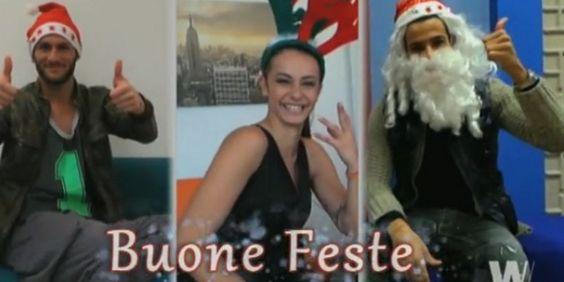 Gli auguri dei tronisti di buon Natale e felice anno nuovo