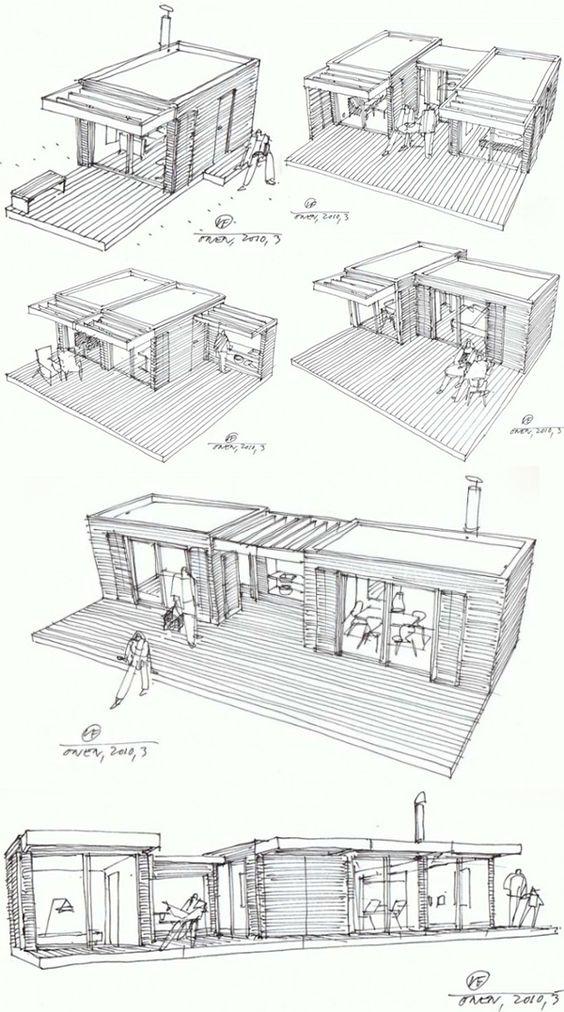 lego bauweise ökohaus von  Onen und Add-A-Room