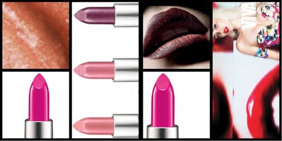 Different Mac lipstick finishes explained | Maquillage | Pinterest ...