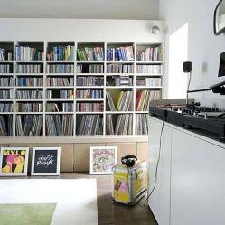 Music room (with Daft Punk vinyl...)