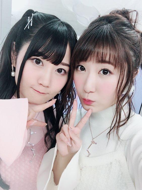 仲良しの小倉唯さんと日高里菜さん