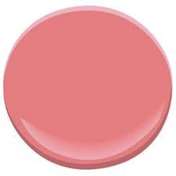 The Top 10 Wall Colors for Mid-Century Modern Style: Pink Flamingo CSP-1175 - Benjamin Moore