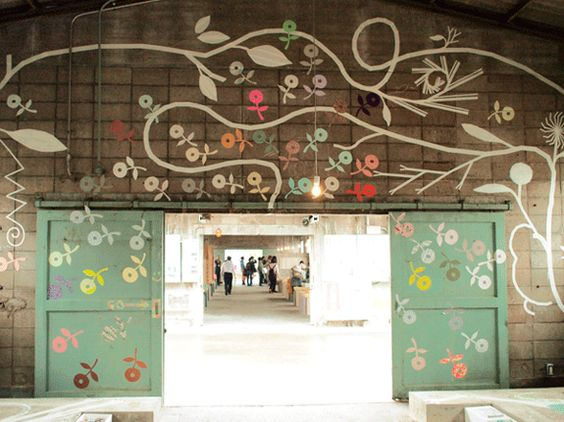 installation by Asai Yusuke - mt tape factory tour - part 2 via Polkaros