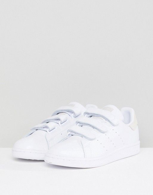 adidas Originals Stan Smith Comfort Trainers In White And