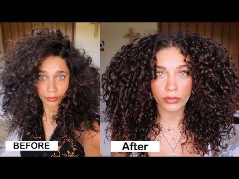 10 Hacks For Frizz Free Curly Hair Detailed Jayme Jo Youtube Frizz Free Curly Hair Curly Hair Styles Frizz Free Curls