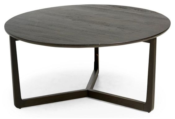 Messina 40 Round Coffee Table Brown Coffee Brown And Tables