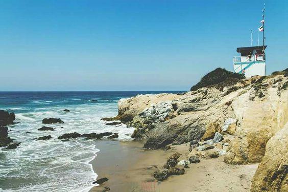 Summer  #summer #beaches #blue #summertime #california #malibu #surf #point #sea