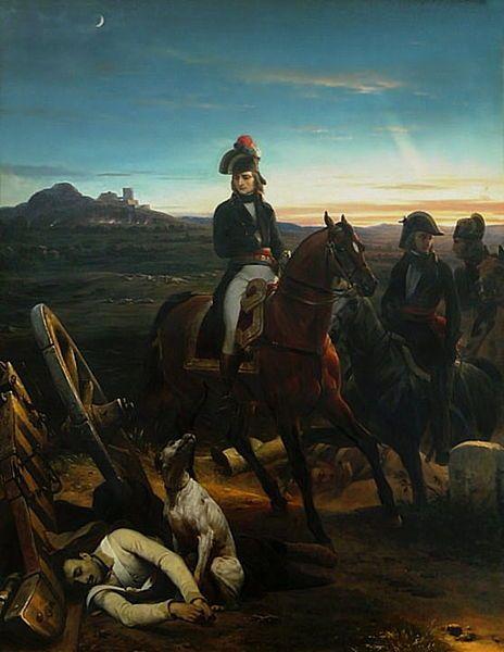 Napoleone dopo la battaglia di Bassano nel 1796