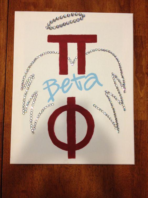 Pi Beta Phi canvas