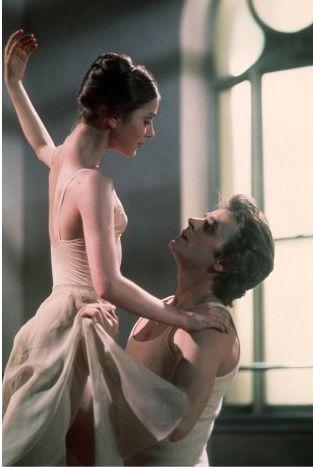 Leslie Browne and Mikhail Baryshnikov