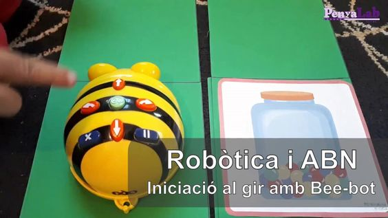Bee-bot – Introducció als girs