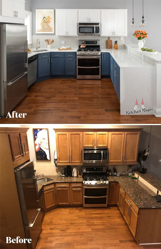 An Outdated Kitchen Beautifully Transformed This Is My Happy Place Remodel House Flooring Kitchen Remodel