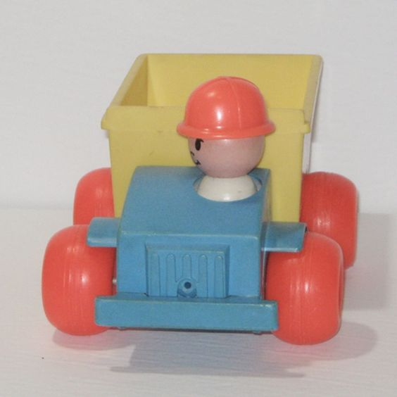 Vintage1982 Fisher Price Dump Truck FP-151 Collection Toy Game | eBay