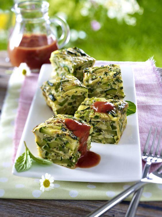 Unser beliebtes Rezept für Zucchini-Minz-Würfel und mehr als 55.000 weitere kostenlose Rezepte auf LECKER.de.