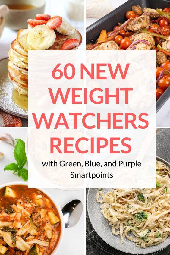 60 New Weight Watchers Recipes